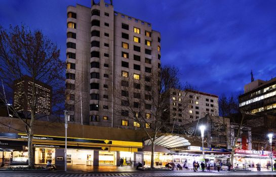 Exterior view The Swanston Hotel Melbourne Grand Mercure