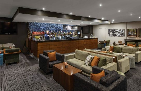 Hotel bar The Swanston Hotel Melbourne Grand Mercure