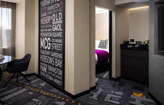 Suite junior Pullman Melbourne on Swanston