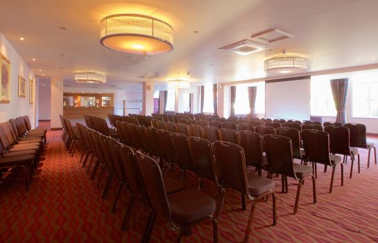 Conference room Bournemouth West Cliff Hotel