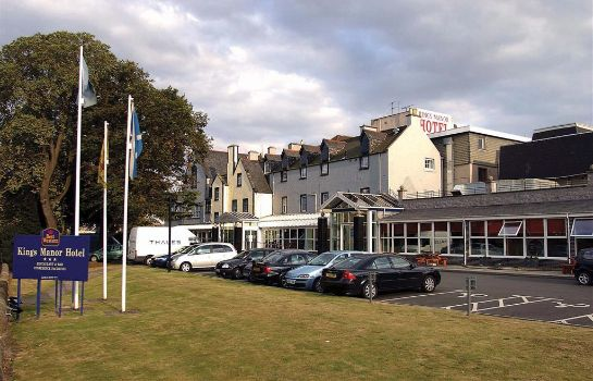 Exterior view BEST WESTERN KINGS MANOR HOTEL