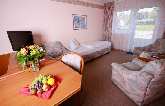 Chambre triple Hotel Stadt Mühlhausen