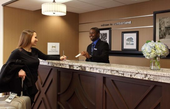 Hol hotelowy Hampton Inn Atlanta-Cumberland Mall-Cobb Galleria Area