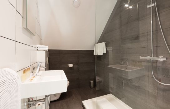 Bagno in camera Hotel Gravensteen - Historic Hotels Ghent