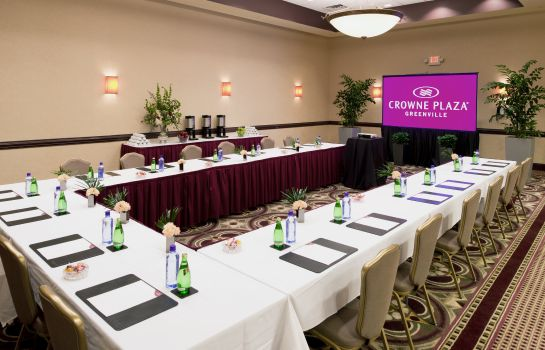 Conference room Crowne Plaza GREENVILLE-I-385-ROPER MTN RD