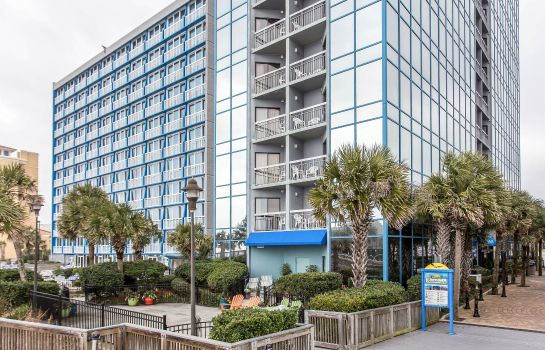 Vista exterior Bluegreen Vacations SeaGlass Tower Asce