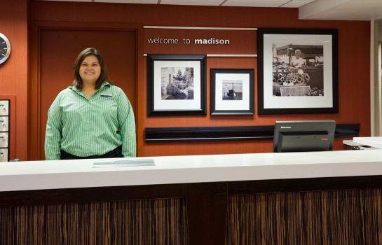 Hotelhalle Hampton Inn Madison East Towne Mall Area
