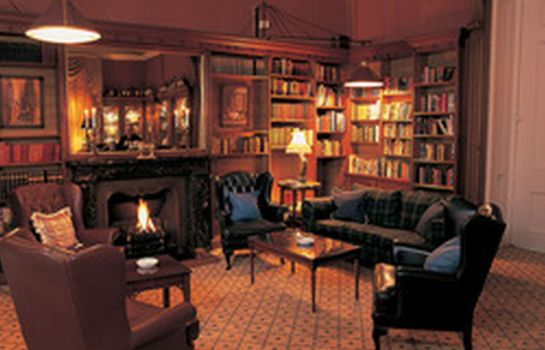 Reading room Balbirnie House Hotel
