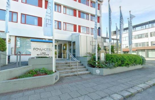 Exterior view Fosshotel Lind