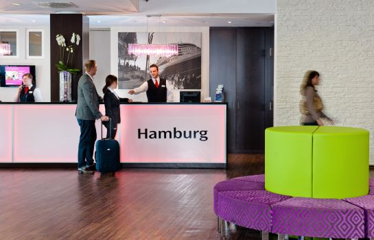 Interior view Mercure Hotel Hamburg am Volkspark
