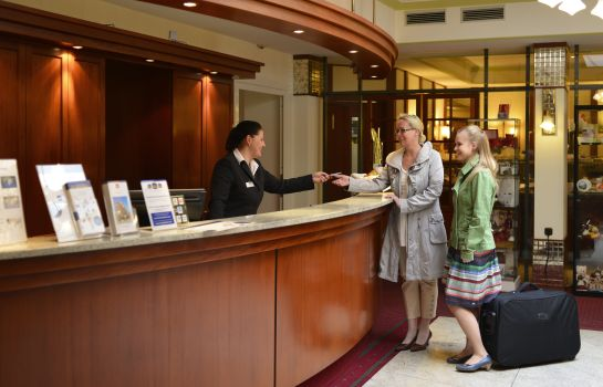 Reception Best Western Plus Excelsior