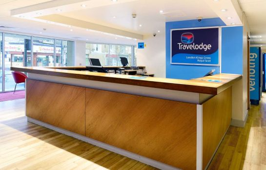 Hall de l'hôtel TRAVELODGE LONDON KINGS CROSS ROYAL SCOT
