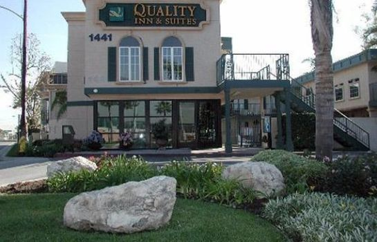 Außenansicht Quality Inn & Suites Anaheim Resort