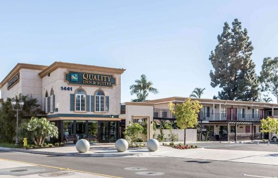 Buitenaanzicht Quality Inn & Suites Anaheim Resort