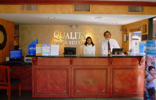 Hotelhalle Quality Inn & Suites Anaheim Resort