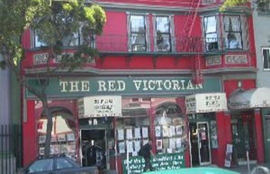 Exterior view Red Victorian Inn