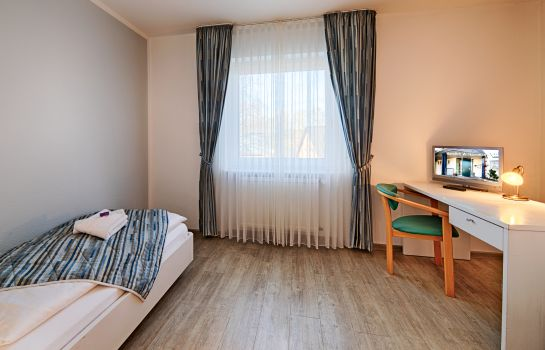 Single room (superior) Hotel Luther Birke Wittenberg