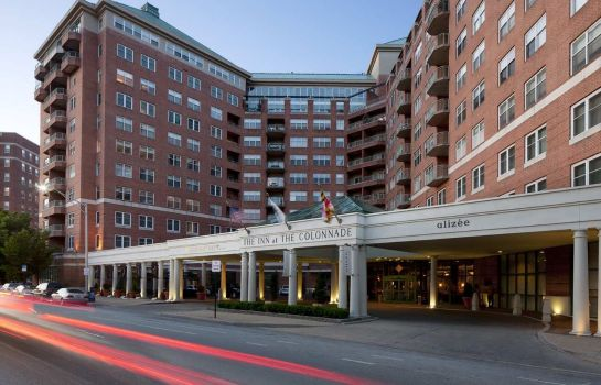 Vista exterior Inn at the Colonnade Baltimore - a DoubleTree by Hilton