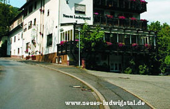 Exterior view Neues Ludwigstal