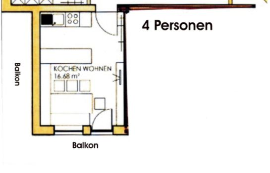 Info Appartement Rosengarten Pension