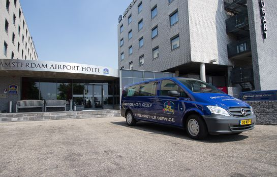 Exterior view Best Western Plus Amsterdam Airport