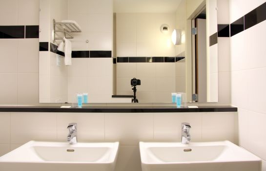 Bagno in camera Best Western Plus Amsterdam Airport