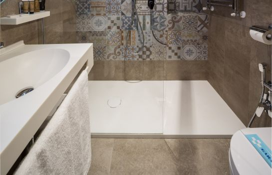 Bagno in camera Best Western Antares Concorde
