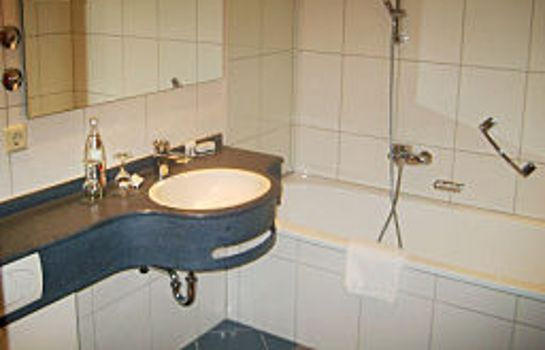 Bagno in camera Riegele Privat Hotel