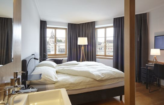 Chambre double (standard) East-West Hotel Basel Riverside