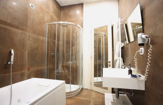 Bagno in camera Columbia Wellness SPA