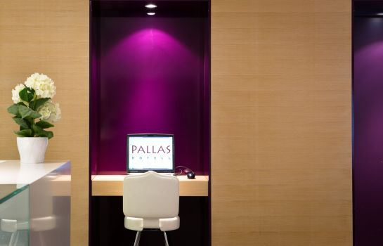 Hotelhalle Art hotel Pallas by Tartuhotels
