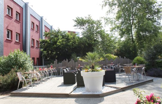 Terrace Kyriad Direct Rennes Ouest