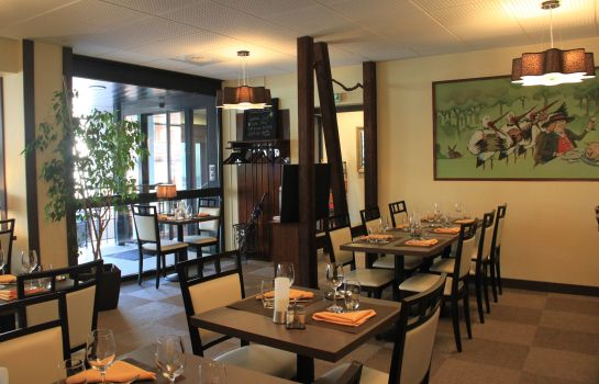 Ontbijtzaal QUALYS-HOTEL Strasbourg Sud d'Alsace