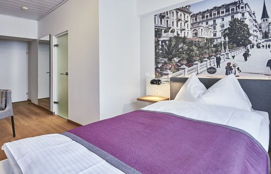Chambre individuelle (standard) Hotel Central Luzern