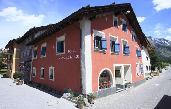 Außenansicht Hotel Chesa Rosatsch – Home of Food
