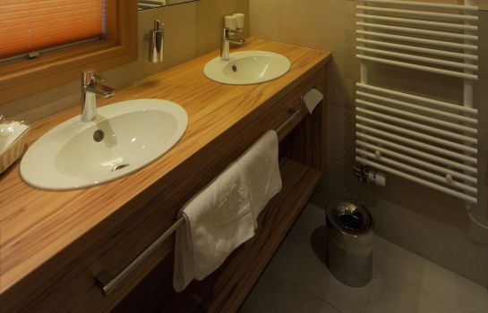 Bagno in camera Wellness Hotel La Ginabelle