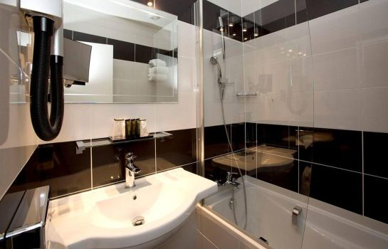 Bagno in camera Quality Hotel Bordeaux Centre