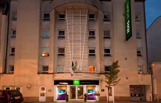 Exterior view ibis Styles Luxembourg Centre Gare