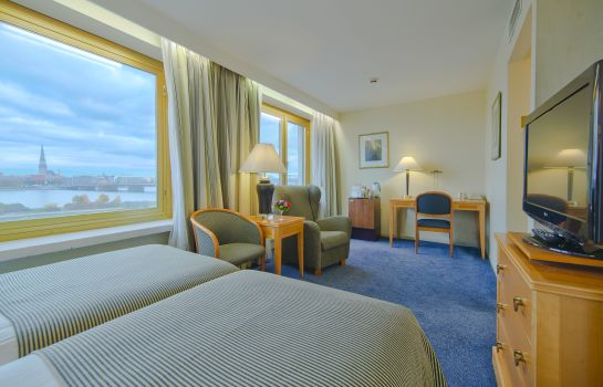 Chambre double (confort) RADISSON BLU DAUGAVA RIGA
