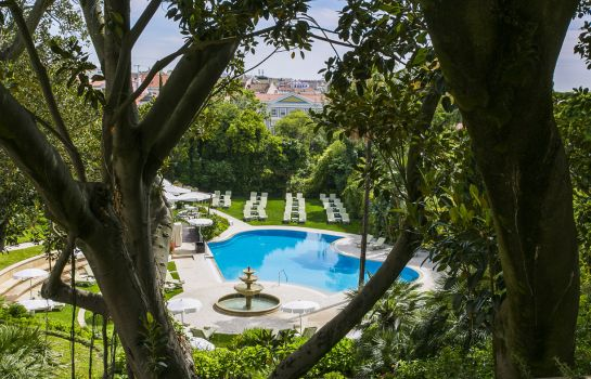 Terrasse Olissippo Lapa Palace The Leading Hotels of the World