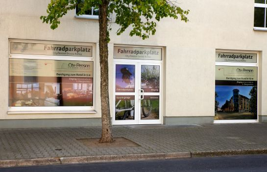 Buitenaanzicht City-Pension Dessau-Roßlau