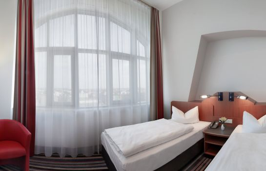 Chambre double (standard) H+ Hotel Leipzig