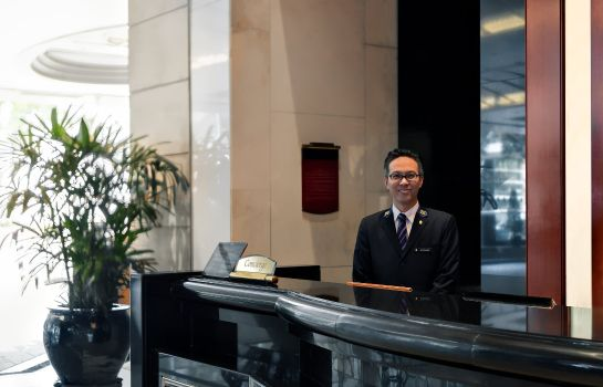 Hotelhalle InterContinental Hotels GRAND STANFORD HONG KONG