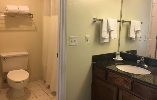 Badezimmer Chase Suite Hotel Tampa