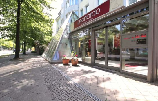 Exterior view Leonardo Boutique Hotel Berlin City South