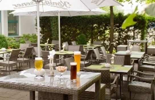 Terrasse Holiday Inn ESSEN - CITY CENTRE