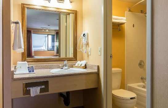 Bagno in camera Accent Inns Kamloops