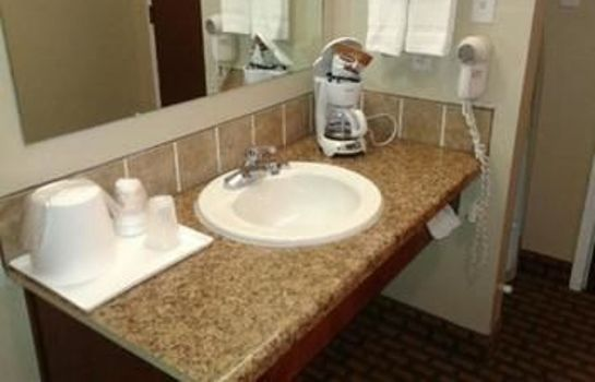 Badezimmer GUESTHOUSE INN FORT SMITH