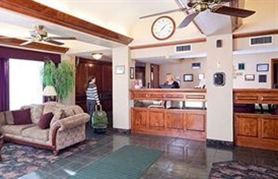 Recepción GUESTHOUSE INN FORT SMITH