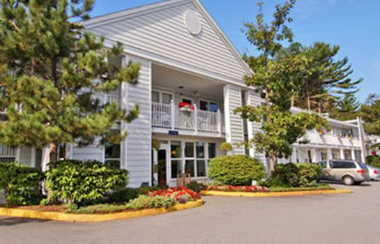 Exterior view DAYS INN BAR HARBOR